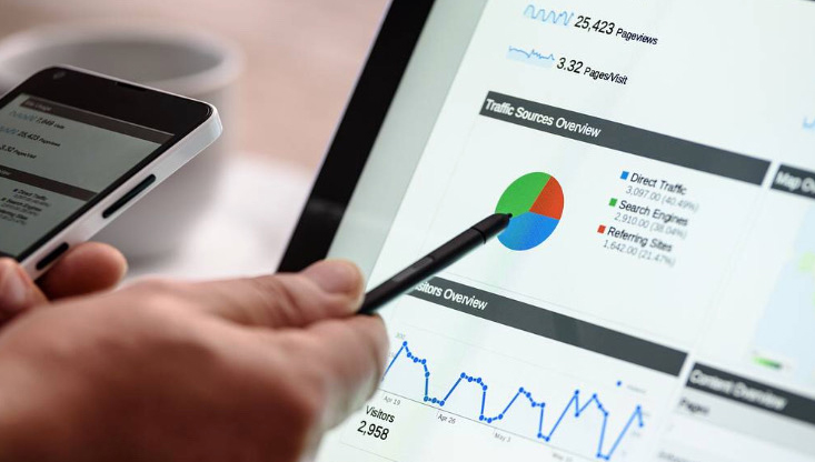 marketing and branding services: Online advertising